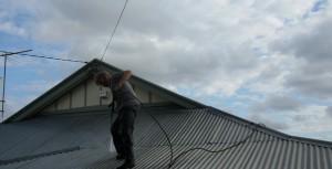 Metal Roof Pressure Cleaning