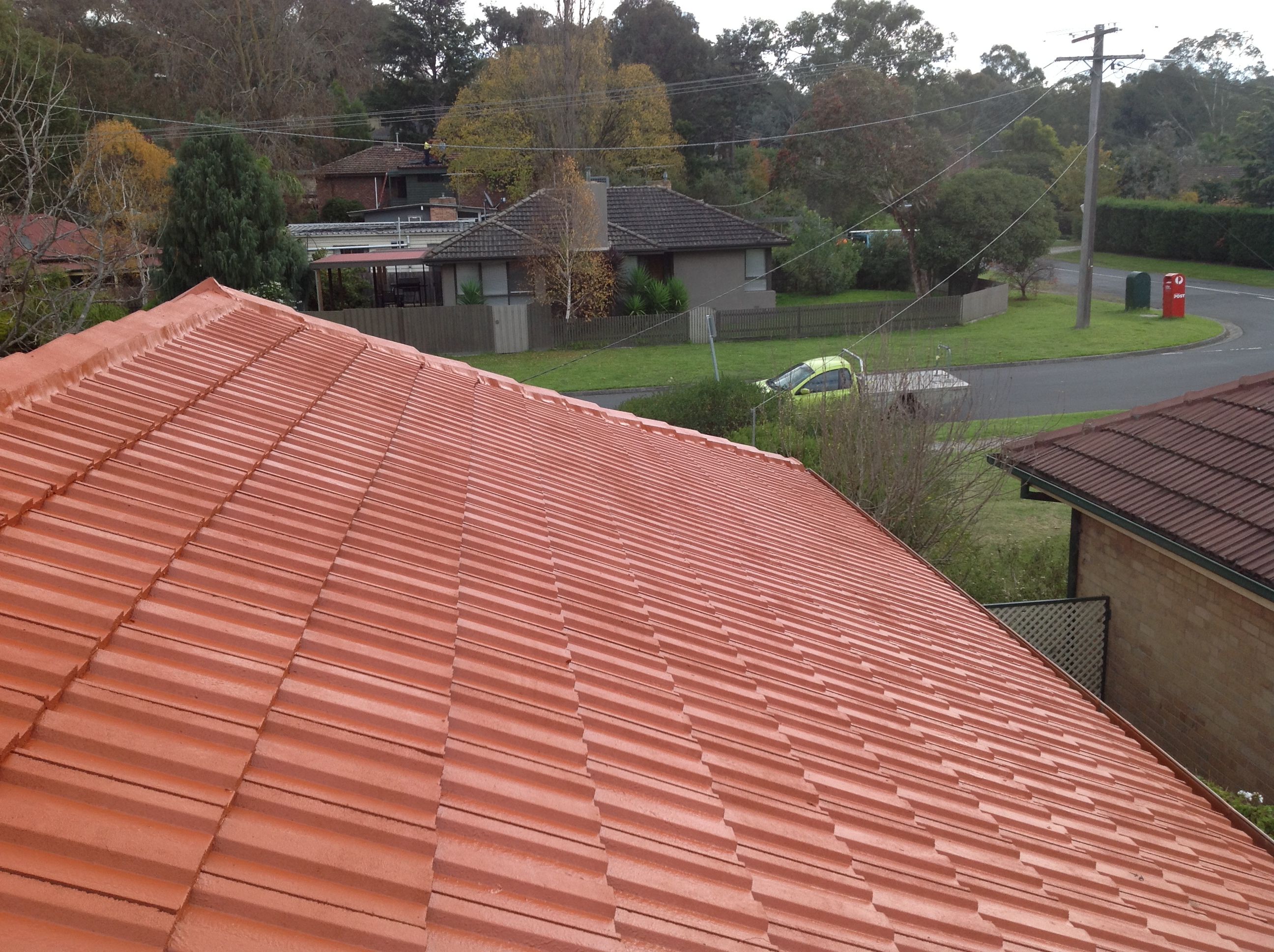 Roof Restoration Templestowe Before