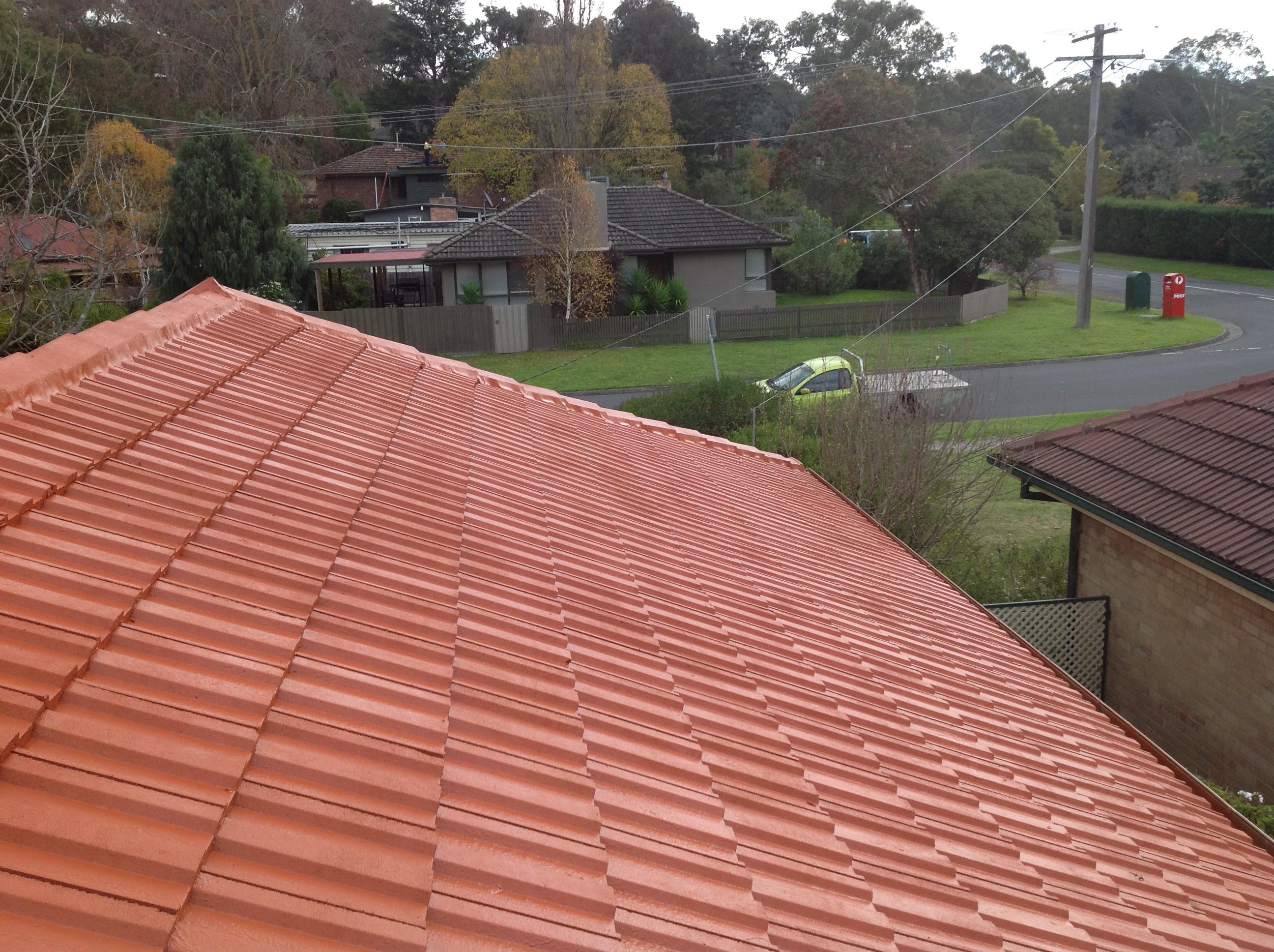 Roof Restoration Templestowe Before