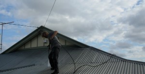 Metal Roof Pressure Cleaning